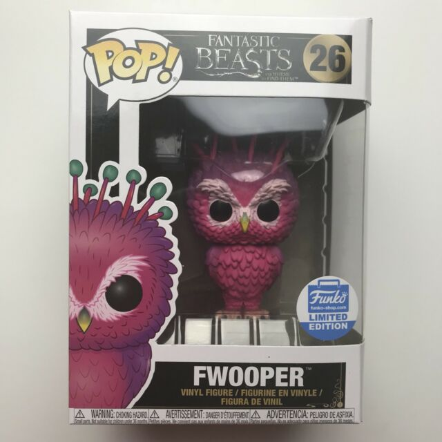 Fantastic Beasts Limited edition Movie Fwooper #26 !! Funko POP