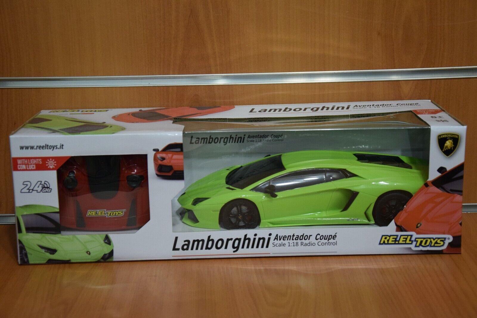 Lamborghini Aventador Coupé 1 18 Radio Control 2.4 GHz Articolo Ufficiale
