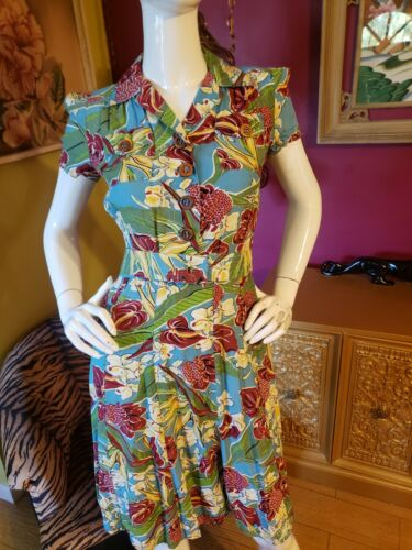 Trashy Diva Hawaiian Charm Sweetie Dress w Belt 4