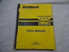 Vermeer D24x40a Navigator Serial No384 Up Parts Catalog Manual 105400 Q20