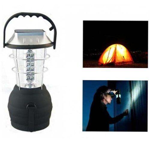 36  LED Outdoor Hand Dynamo Solar Lantern - GorillaSpoke for Free P&P Worldwide   hastened to see