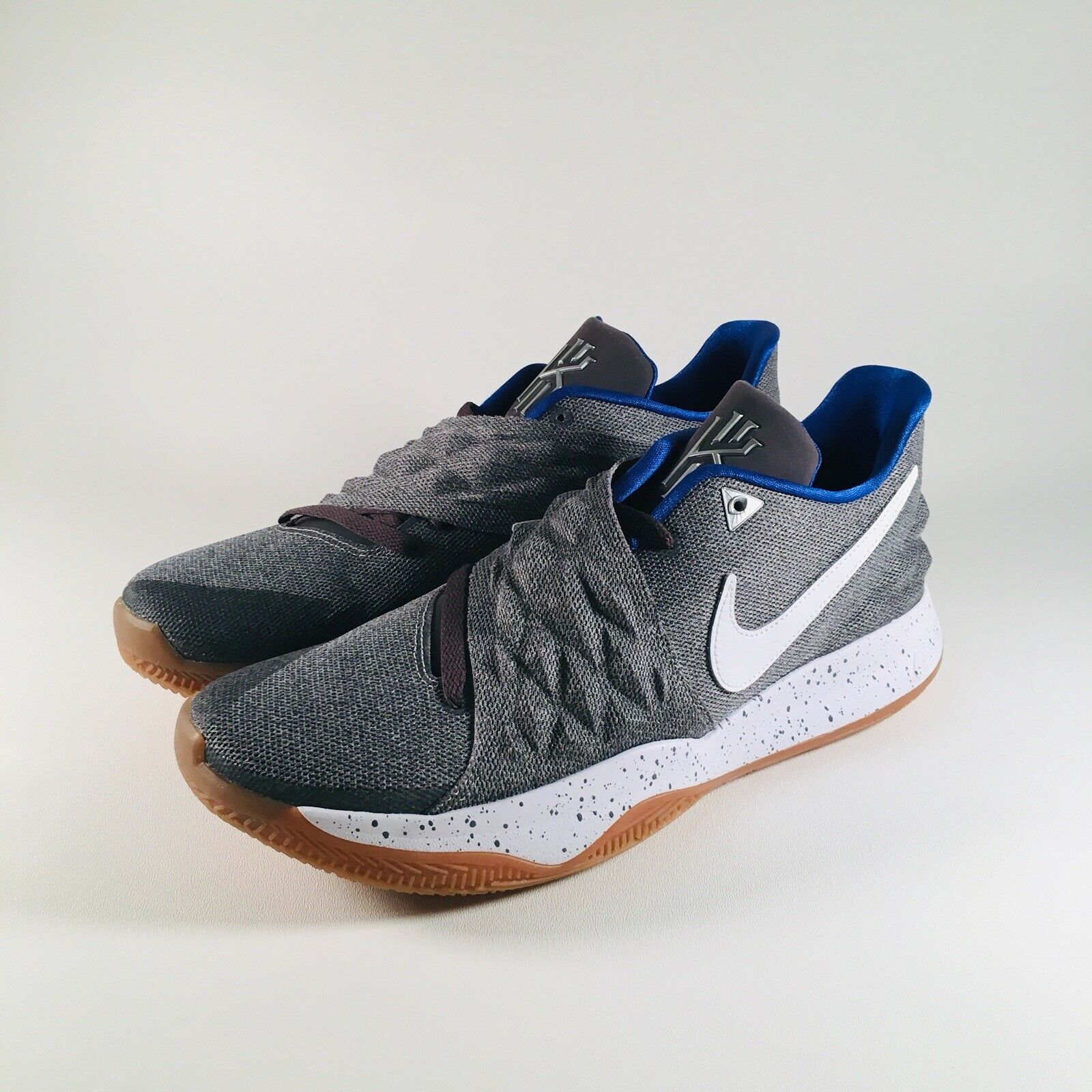 Nike Zoom Kyrie 1 Low Uncle Drew Grey   White   bluee   Gum [AO8979-005] Sz 12.5