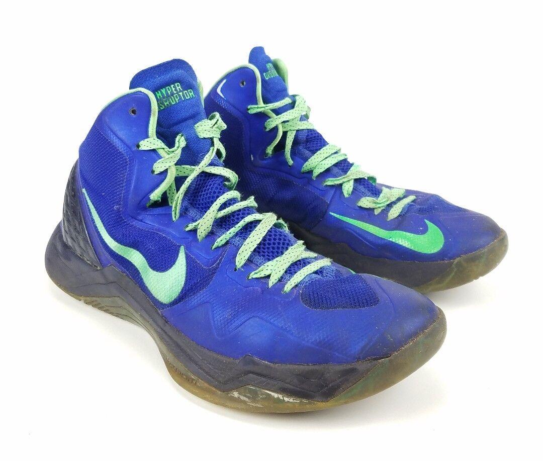 3b9a0bd713a64 Nike Zoom Hyper Disruptor Sneakers Blue Green 548180 402 402 402 Size 12  e53dff