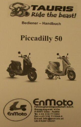 Tauris Piccadilly 50-Manuale di istruzioni-manuale-Operatore manuale-DE