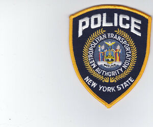 NYPD NYST MTA Metropolitan Transportation Authority  Police Patch