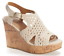 thumbnail 2 - SO Women's Olive- Beige Woven Wedge Sandals Size 8,9,10 MSRP $49