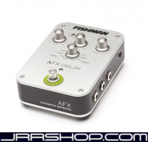Fishman AFX-Delay Acoustic Effect Pedal New JRR Shop