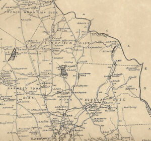 Details about Watertown and Oakville CT 1874 Maps with Homeowners Names  Shown