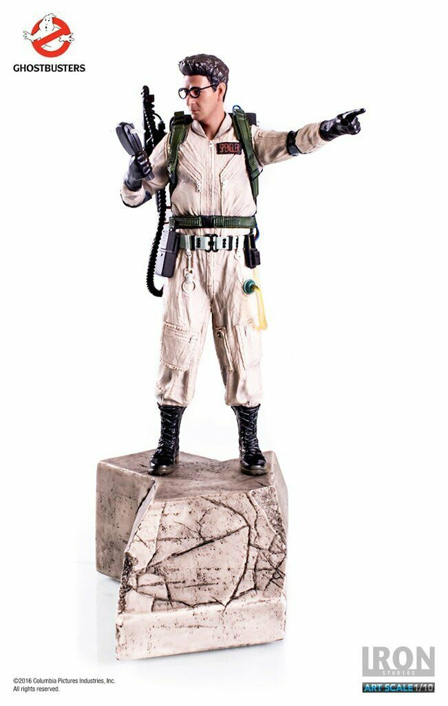 Egon Spengler Art Scale 1 1 1 10 - Ghostbusters Iron Studios Sideshow 45527d