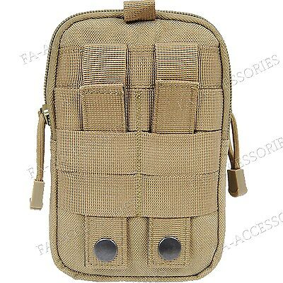 Military Army Style Sport Bag Case Belt Loop Hook Purse Pouch For Samsung Galaxy