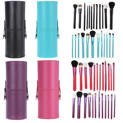 7 PCS Makeup Brush Cosmetic Brushes Tool Set Kit Foundation Lip Eyeliner Mask