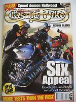 Classic Bike Magazine. No. 196. May, 1996. BSA Lightning Clubman. Triumph Racers