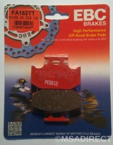 "Kawasaki KDX250 (1991 to 1993) EBC ""TT"" REAR Brake Pads (FA152TT) (1 Set)"