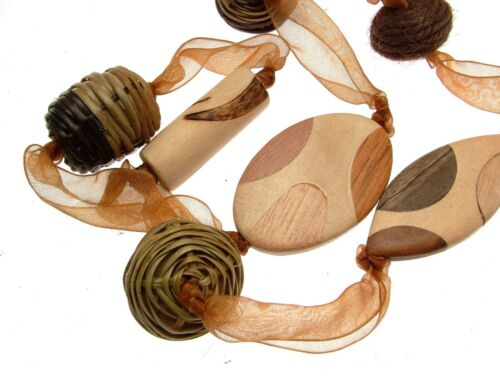 Necklaces For Women Statement Necklaces Brown Necklaces Brown Jewellery