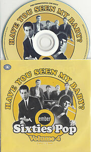 Have-You-Seen-My-Baby-Ember-60s-Pop-Vol-4-UK-25-trk-promo-test-CD-Chad-amp-Jeremy