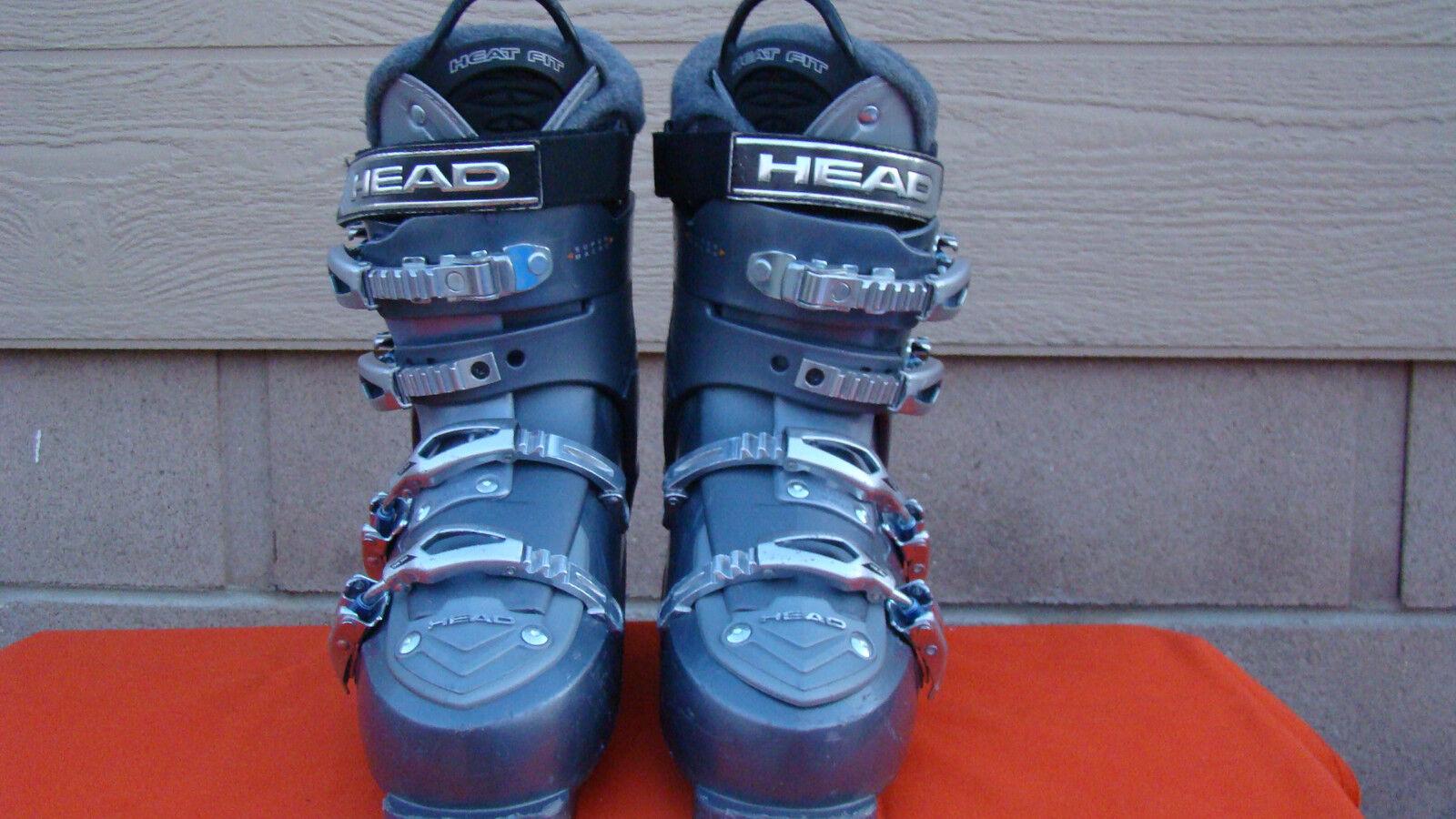 Head Ezon2 BYS HP Adult Downhill Ski Boots - Size  260 265 mm - Czech Republic