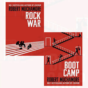 Rock-War-Series-Collection-2-Book-Set-By-Robert-Muchamore-Boot-Camp-Rock-War-NEW