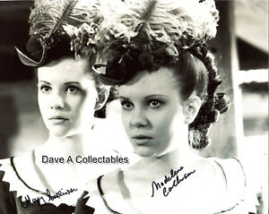 Image Is Loading Mary Amp Madeleine Collinson Signed Photo By Both