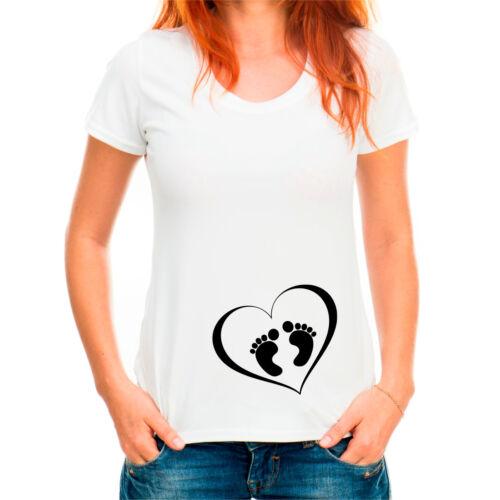 Baby Feet T-shirt Pregnant AF Shirt,Pregnancy Announcement T shirt,Preggers