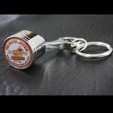 Original Busted Knuckle Garage Werkstatt US Car Schlüsselanhänger Anhänger Chrom