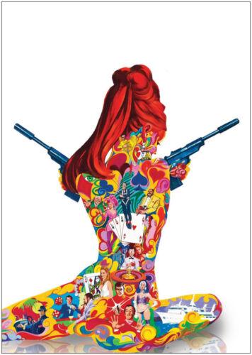 James Bond Casino Royale Classic Movie Premium METAL Poster Art Print Gift