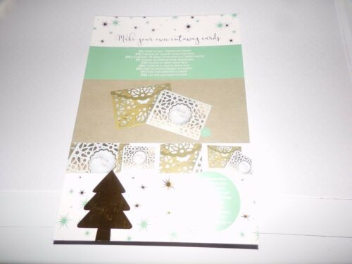C MAKE YOUR OWN 5 CUTAWAY   CARDS//BLOCK = 22X15 CM NEW NEW