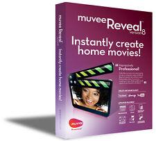 NEW muvee Reveal 8 DVD slideshow video editing software Windows XP/Vista/7/8/10