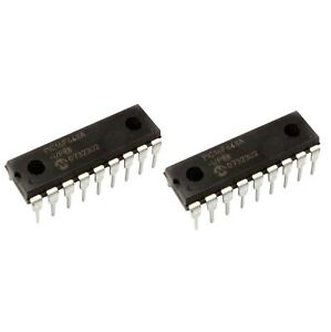 2-Pack-PIC16F648A-I-P-MICROCHIP-TECHNOLOGY-IC-MCU-8BIT-7KB-FLASH-18DIP