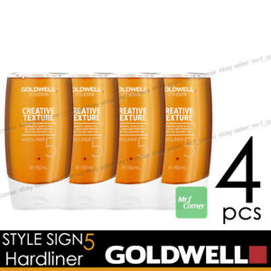 Goldwell-Hardliner-Style-SIGN-5-Texture-Acrylic-Gel-150ml-NEW-4pcs