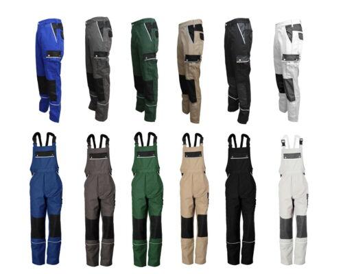 44-60 Cargo giardiniere Pittore Auto Pantaloni Federale patta Pantaloni lavoro pantaloni canvas 320 g//m² tg