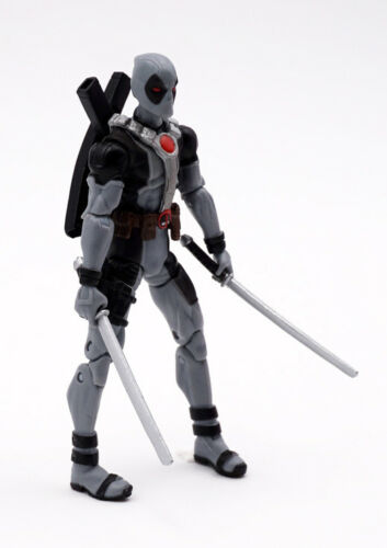 4/'/' Marvel Universe Super Hero Action Figure X-Men Grey Deadpool Loose Toy