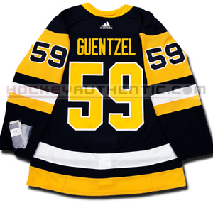 JAKE GUENTZEL PITTSBURGH PENGUINS HOME AUTHENTIC PRO ADIDAS NHL JERSEY