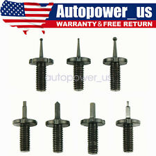 Steel 7 PK Precision Front Sight Post Body Assortment Replacement Kit