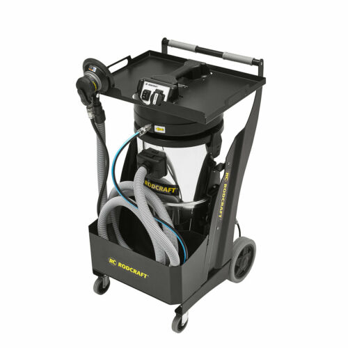 Rodcraft RC7915 Industrial Vacuum Cleaner Dust Free Sanding H14 certification