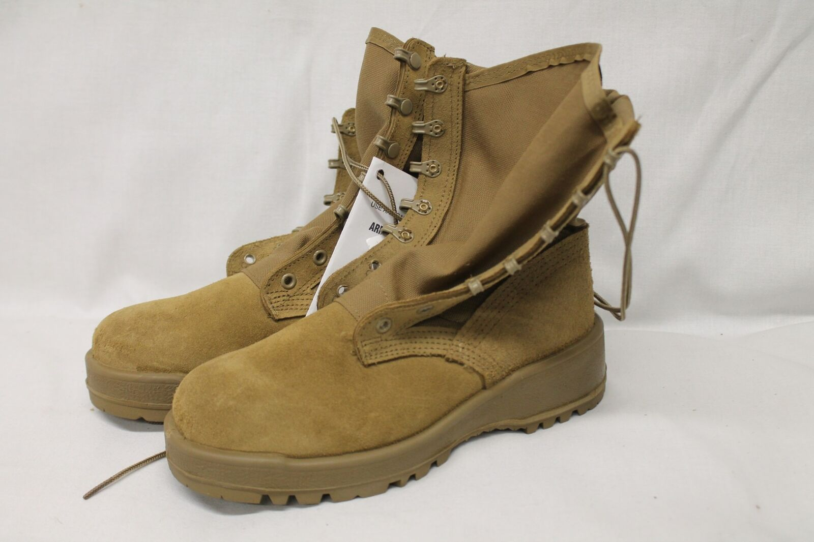 Altama Hot Weather Type II Combat Military shoes Boots With Tag Tan Size 5W
