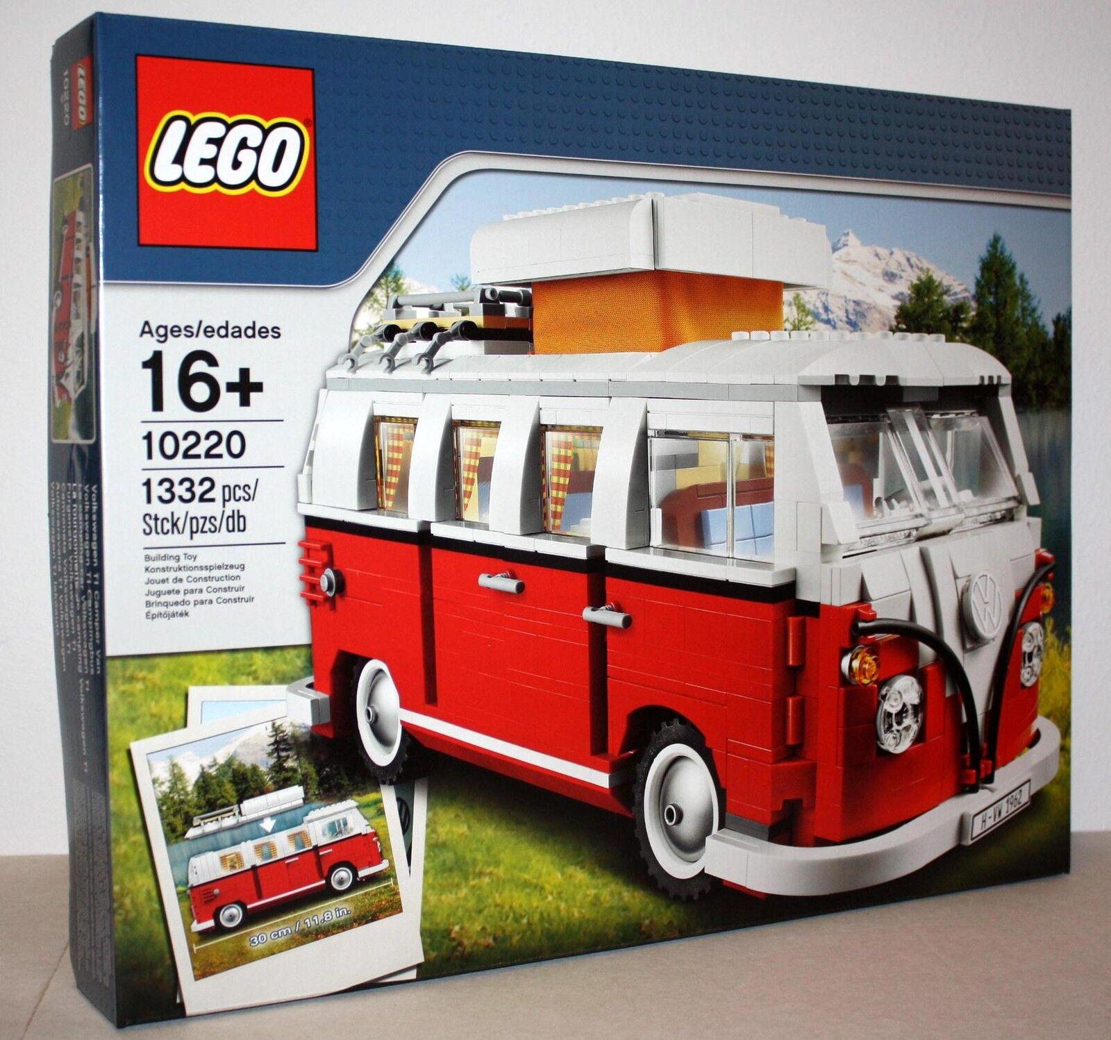 LEGO® 10220 Volkswagen T1 Campingbus  Neu & OVP ( ERSTE SERIE MIT 1332 TEILEN  )