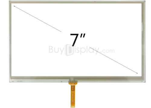 """Factory Outlet 7/"""" inch Resistive Touch Panel Screen with Soldering Type FPC"""
