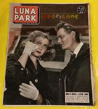 LUNA PARK 1955 n. 40 Anna Di Lorenzo, Alfredo Zammi - Fotoromanzi a puntate