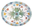 #065) MEDIUM 17x14 MEXICAN BATHROOM SINK CERAMIC DROP IN UNDERMOUNT BASIN