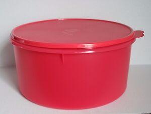 Tupperware Jumbo Round Storage Container Canister 10L NEW eBay