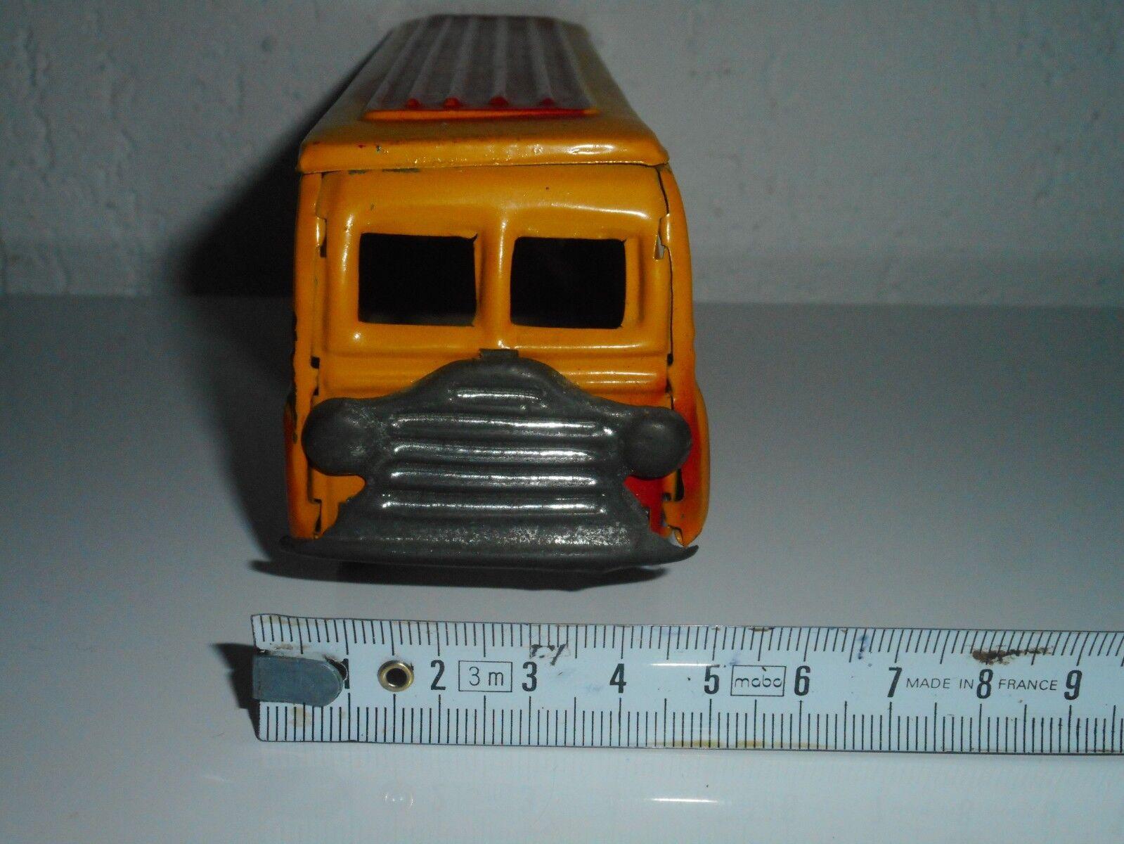 Autobus  C R  tôle peinte peinte peinte  18,5 cm  bel état tout d'origine ab2849