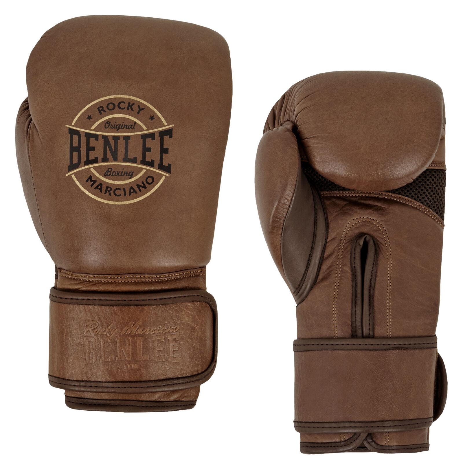 Benlee Guantoni da Box Barbello Boxing Punch Mma Alta Qualità pelle Bovina