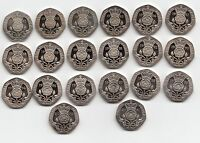 UK PROOF Twenty Pence Coins 20p 1982 to 2016 Choose your Year