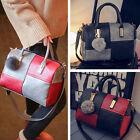 New PU Leather Tote Purse Handbag Messenger Crossbody Satchel Shoulder Bag
