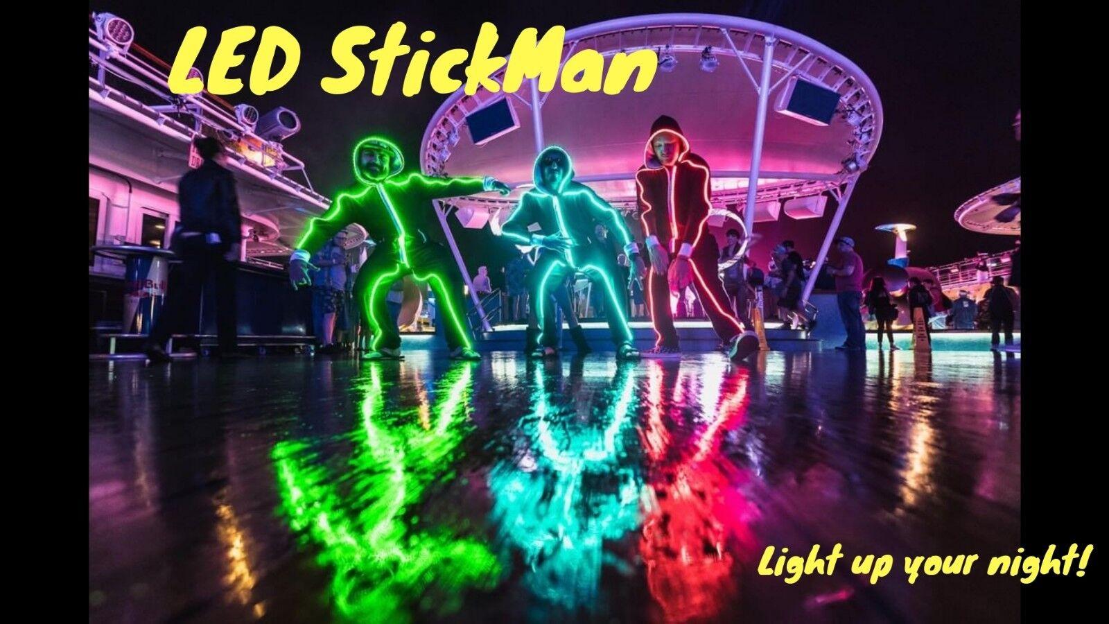 Halloween Costume - The LED StickMan