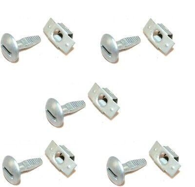 5 Pcs Clips Protection Fixation Moteur Pour PEUGEOT 206 207 406 307 306 703016