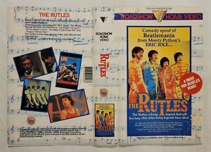 The Rutles [Cover/Sleeve Only] VHS 1978 Comedy Eric Idle Roadshow Home Video