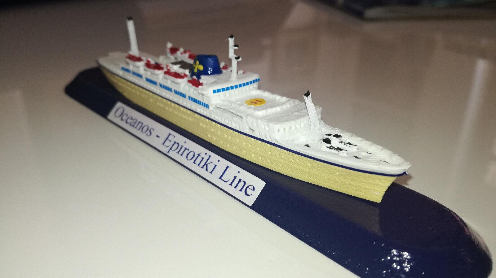 EPIrougeIKI LINE Grecia model m v v v Oceanos scala 1 1250 GreeK Ship  Flotta Lauro 96559b