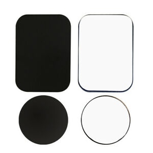 Metal-Plates-Adhesive-Sticker-4-PACK-Replace-For-Magnetic-Car-Mount-Phone-Holder