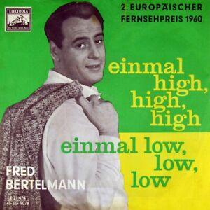 7-034-FRED-BERTELMANN-Hinter-den-blauen-Bergen-OST-Meine-Nichte-tut-ELECTROLA-1960